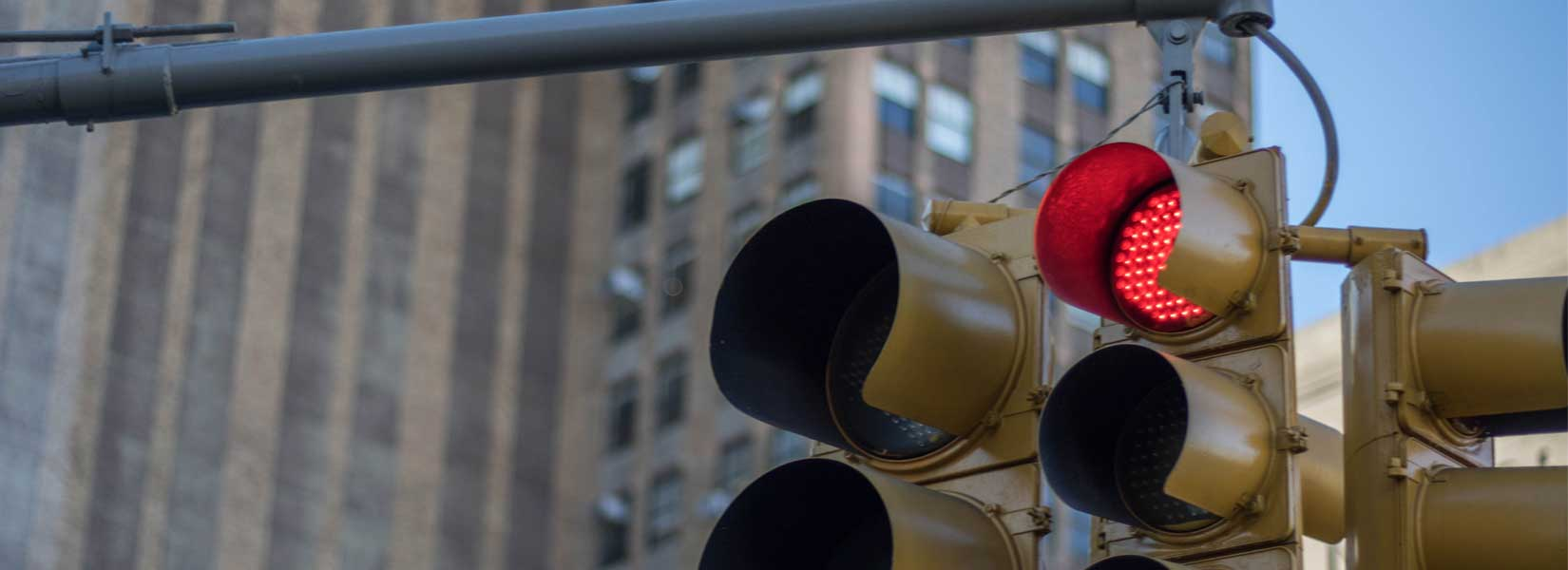 Picture of faulty traffic lights
