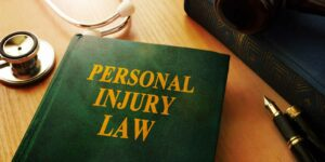 Picture of a book about personal injury law