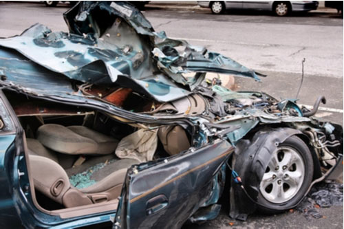 What Happens if Your Car Is Totaled in Las Vegas?